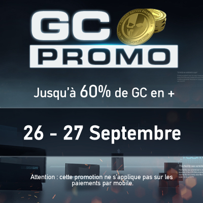 Promo GC Ghost Recon Phantom septembre 2015