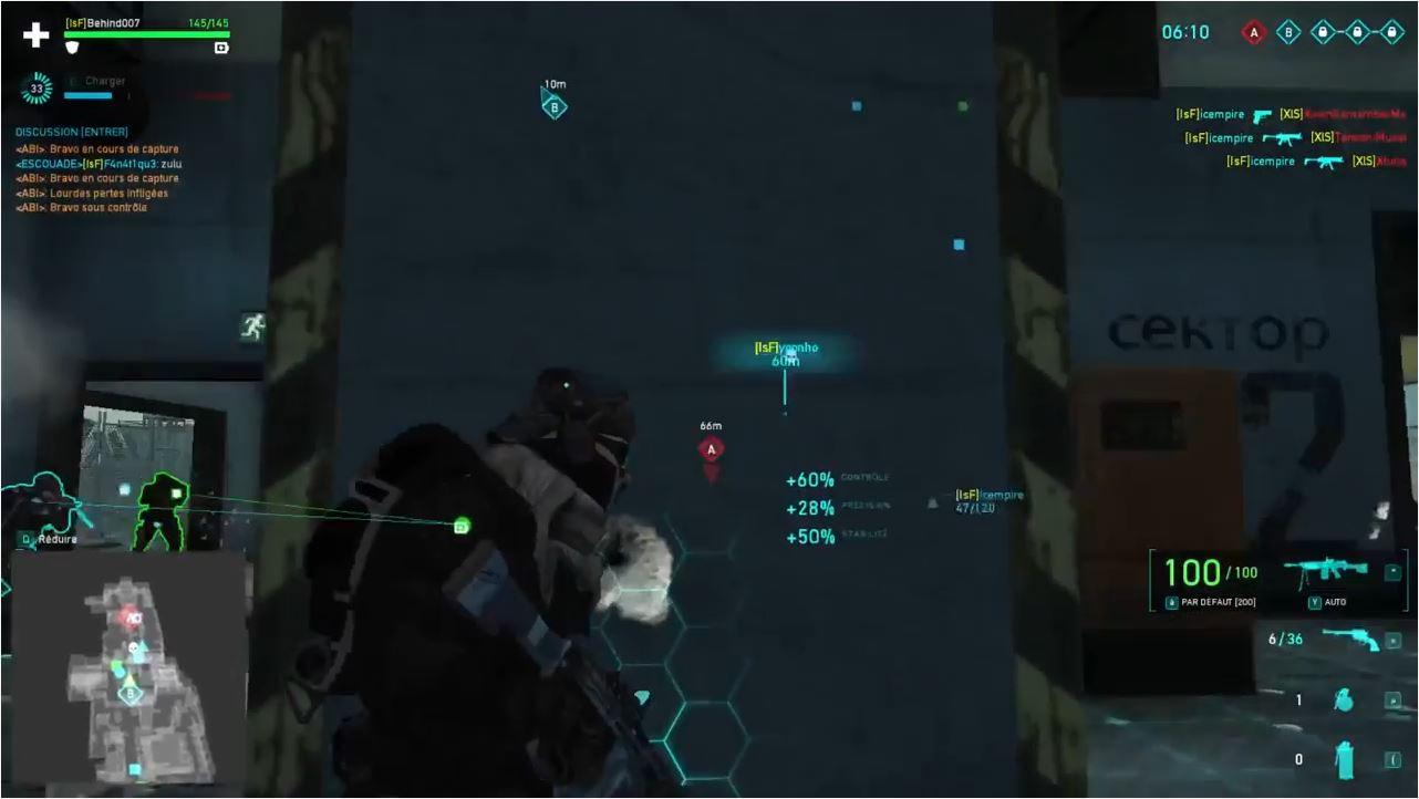 Ghost Recon match de clan XlS