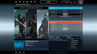 Vidéo match de clan Ghost Recon Phantom