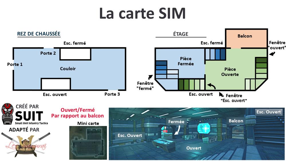 La carte SIM bâtiment dans Planetside 2
