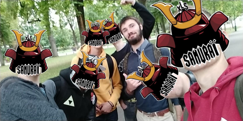 Les Samurai Alsaciens au parc